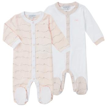 Textiel Meisjes Pyjama's / nachthemden Emporio Armani Alec Roze