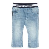 Textiel Jongens Straight jeans Emporio Armani Ange Blauw