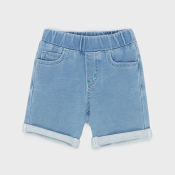 Textiel Jongens Korte broeken / Bermuda's Emporio Armani Aurélien Blauw