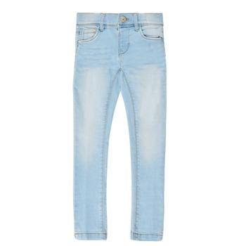 Textiel Meisjes Skinny jeans Name it NMFPOLLY DNMCILLE Blauw