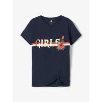 Textiel Meisjes T-shirts korte mouwen Name it NKFBARBRA Marine
