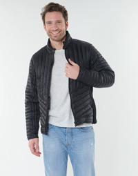 Textiel Heren Wind jackets Schott HAMILTON19 Zwart