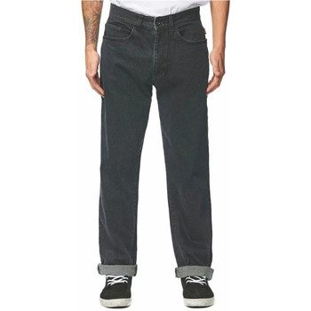Textiel Heren Straight jeans Globe  Zwart