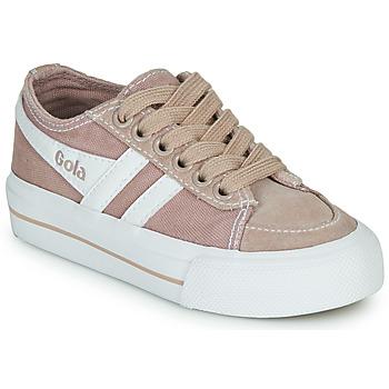 Schoenen Kinderen Lage sneakers Gola QUOTA II Roze / Wit