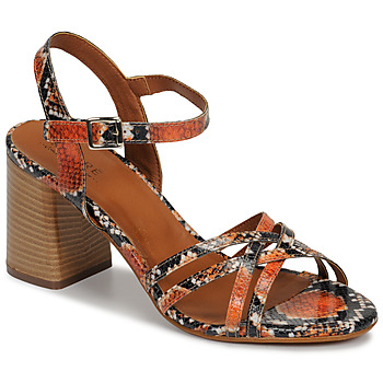 Schoenen Dames Sandalen / Open schoenen André BRYNN Orange