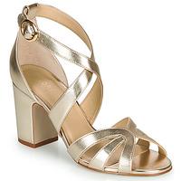 Schoenen Dames Sandalen / Open schoenen André VIGNE Goud
