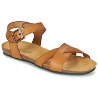 Schoenen Dames Sandalen / Open schoenen André BREHAT  camel