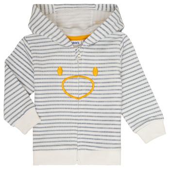 Textiel Jongens Sweaters / Sweatshirts Noukie's CAM Wit