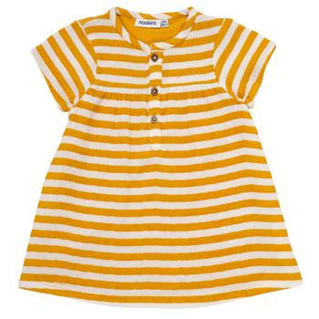 Textiel Meisjes Korte jurken Noukie's YOUNES Geel