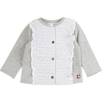 Textiel Meisjes Vesten / Cardigans Carrément Beau ISA Grijs