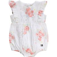 Textiel Meisjes Jumpsuites / Tuinbroeken Carrément Beau KAIS Wit