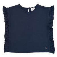 Textiel Meisjes T-shirts korte mouwen Carrément Beau KAMILLIA Blauw