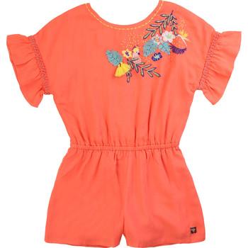 Textiel Meisjes Jumpsuites / Tuinbroeken Carrément Beau DAVID Roze