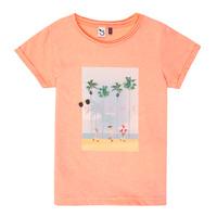 Textiel Meisjes T-shirts korte mouwen 3 Pommes LEA Orange