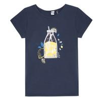Textiel Meisjes T-shirts korte mouwen 3 Pommes LOGAN Blauw