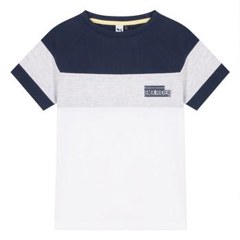 Textiel Jongens T-shirts korte mouwen 3 Pommes NORA Wit
