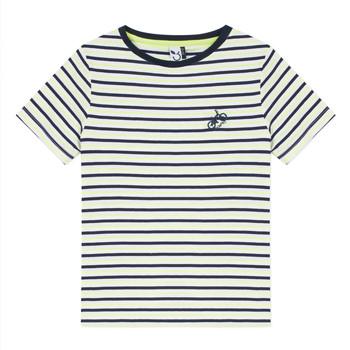 Textiel Jongens T-shirts korte mouwen 3 Pommes NORDINE Geel