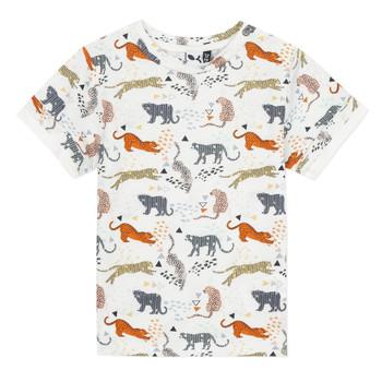 Textiel Jongens T-shirts korte mouwen 3 Pommes ARIANE Orange