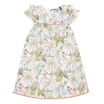Textiel Meisjes Korte jurken 3 Pommes SANDRINE Wit