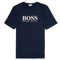 Textiel Jongens T-shirts korte mouwen BOSS ELIO Blauw