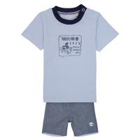 Textiel Jongens Setjes Timberland AXEL Blauw