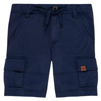 Textiel Jongens Korte broeken / Bermuda's Timberland LUKA Blauw