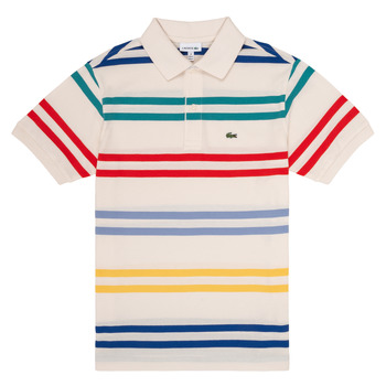 Textiel Jongens Polo's korte mouwen Lacoste HENRI Multicolour