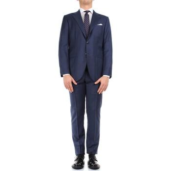 Textiel Heren Anzüge Kiton 0302S15/25 Blue