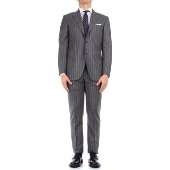 Textiel Heren Anzüge Kiton 0252S08/2 Grey