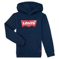 Textiel Jongens Sweaters / Sweatshirts Levi's BATWING SCREENPRINT HOODIE Marine
