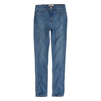 Textiel Meisjes Skinny Jeans Levi's 721 HIGH RISE SUPER SKINNY Blauw