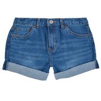 Textiel Meisjes Korte broeken / Bermuda's Levi's GIRLFRIEND SHORTY SHORT Evie