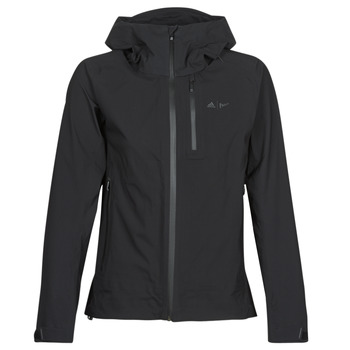 Textiel Dames Trainings jassen adidas Performance W PARLEY 3L JKT Zwart