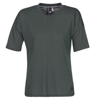 Textiel Dames T-shirts korte mouwen adidas Performance W MH 3S Tee Zwart