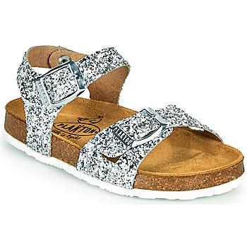 Schoenen Meisjes Sandalen / Open schoenen Plakton LISA Zilver