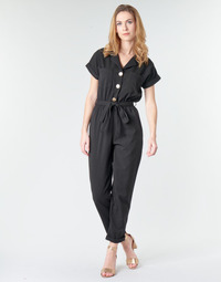 Textiel Dames Jumpsuites / Tuinbroeken Betty London MYRTIL Zwart
