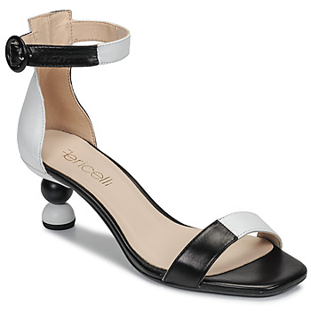 Schoenen Dames Sandalen / Open schoenen Fericelli MARC Zwart / Et / Wit