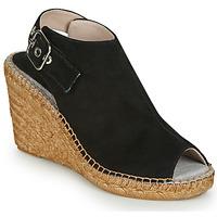 Schoenen Dames Sandalen / Open schoenen Fericelli MAURINE Zwart