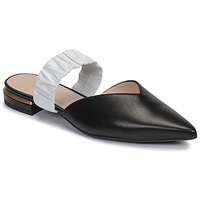 Schoenen Dames Leren slippers Fericelli MANIO Zwart