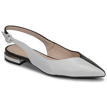 Schoenen Dames Ballerina's Fericelli MANU Zwart / Et / Wit