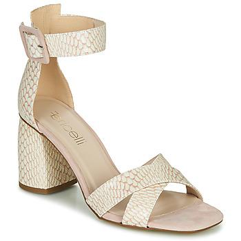 Schoenen Dames Sandalen / Open schoenen Fericelli JEZI Wit / Roze
