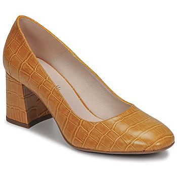 Schoenen Dames pumps Fericelli MARGOT Geel