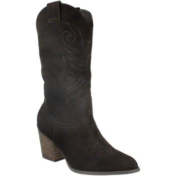 Schoenen Dames Hoge laarzen Buonarotti 2A-9545 Negro
