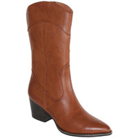 Schoenen Dames Hoge laarzen Prisska HF980 Camel