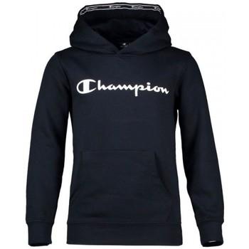 Textiel Jongens Sweaters / Sweatshirts Champion Hooded Sweatshirt Kid's Katoen Blauw