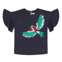Textiel Meisjes T-shirts korte mouwen Catimini MATIGNON Blauw