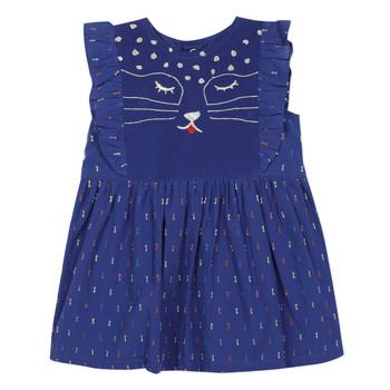 Textiel Meisjes Korte jurken Catimini CHARLES Blauw