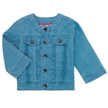 Textiel Meisjes Wind jackets Catimini ELIOTT Blauw