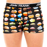 Ondergoed Heren Boxershorts John Frank Boxer Zwart