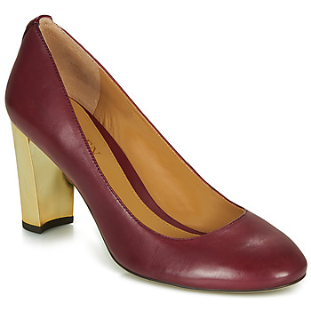 Schoenen Dames pumps Lauren Ralph Lauren 802688958-004 Bordeaux
